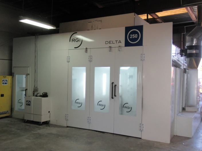 2nd Paint Booth RGI Delta 250